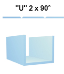 Sadrokartón tvaru U