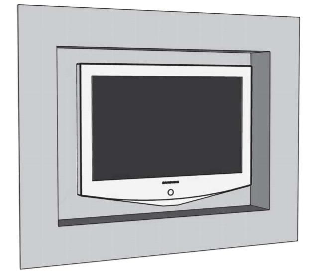 EasyBoard lem pre nepriame osvetlenie televizora